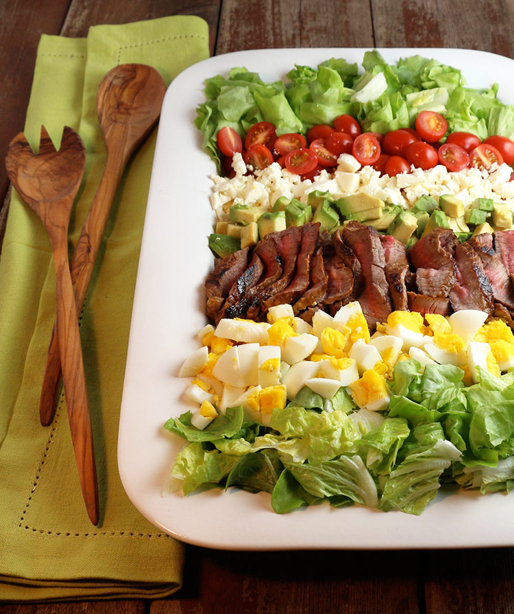 Steak and Egg Salad