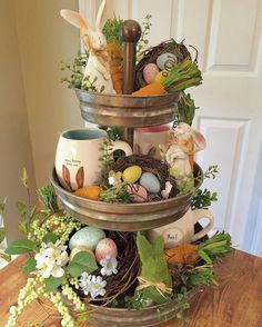 Whimsical Easter Display