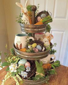 Whimsical Easter Display