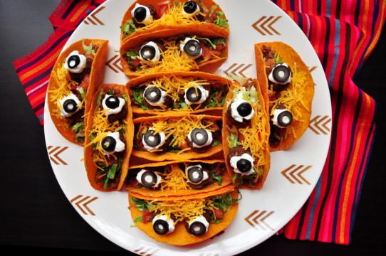 Eye Ball Tacos