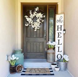 Winter White Doorway