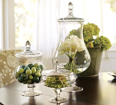 Lovely Apothecary Jar Decor