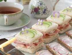 Ham & Pineapple Sandwiches