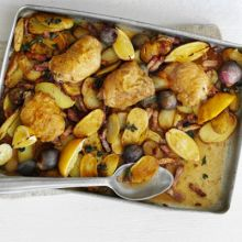 Lemon & Oregano Chicken Bake