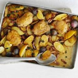 Lemon & Oregano Chicken Bake