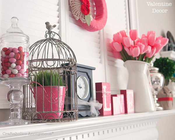 Charming Valentine Mantle