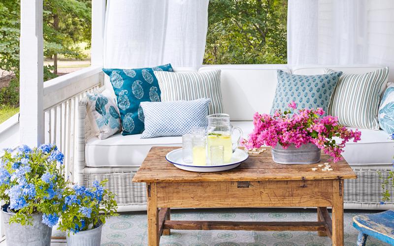 Springtime Porch