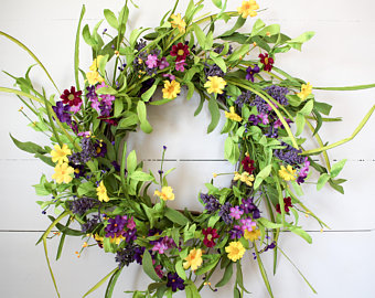 Gorgeous Spring Wreath