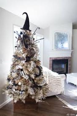 Spooky Holiday Tree