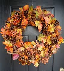 Pinecone Leaf Wreath