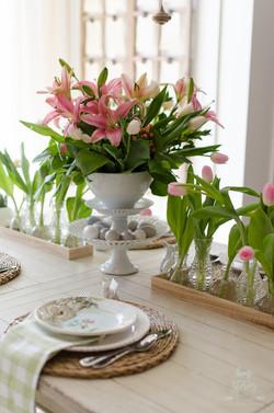 Pretty in Pink Tablescape
