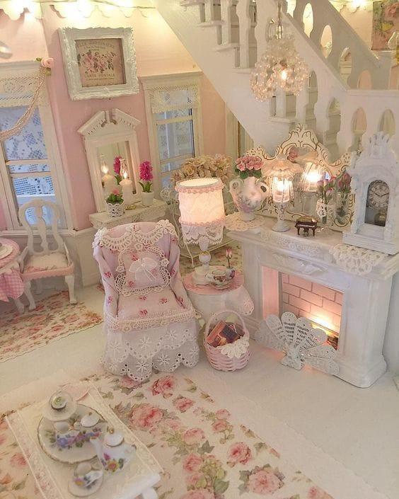 Shabby Chic & Pink