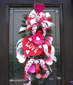 Valentine Door Swag