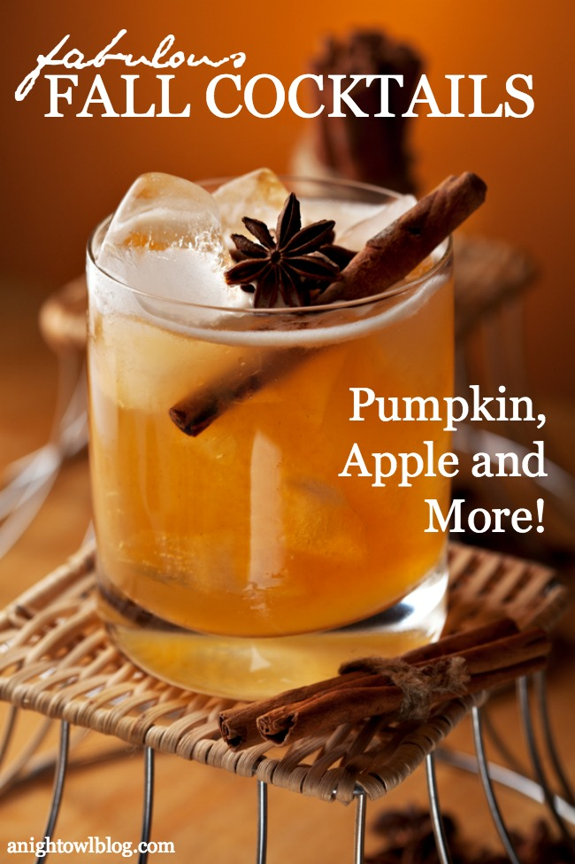 Fabulous Fall Cocktail Recipes