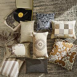 Neutral Pillows with Flair