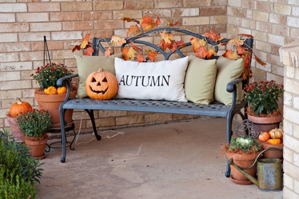 Festive Fall Porch