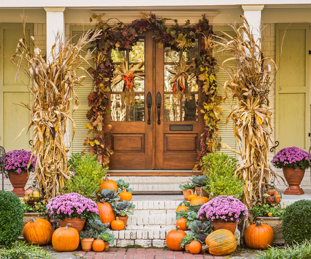 Autumn Harvest Entryway