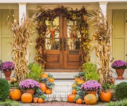 Autumn Harvest Entryway