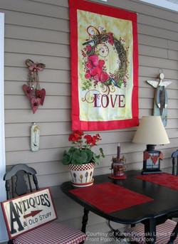 Festive Porch Decor