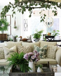 Sitting Area w/Eucalyptus