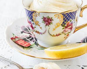 Cupcake in a Tea Cup