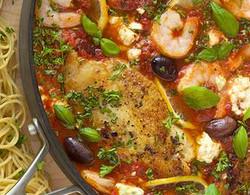 Meditarranean Chicken & Shrimp
