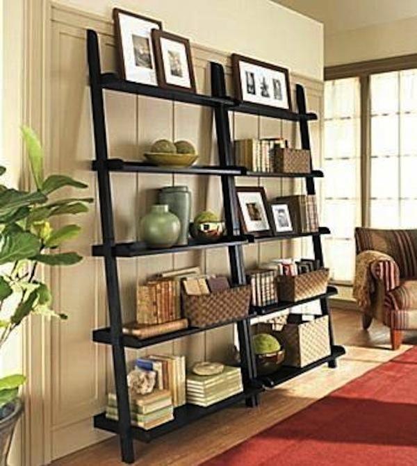 Stunning Ladder Shelves