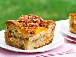 Fresh Peach Cake