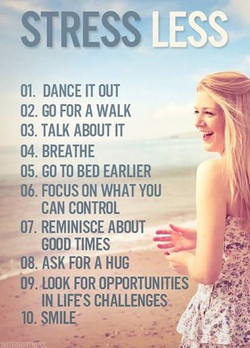 10 Ways to Stress Less