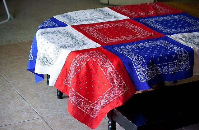 Bandana Table Cloth