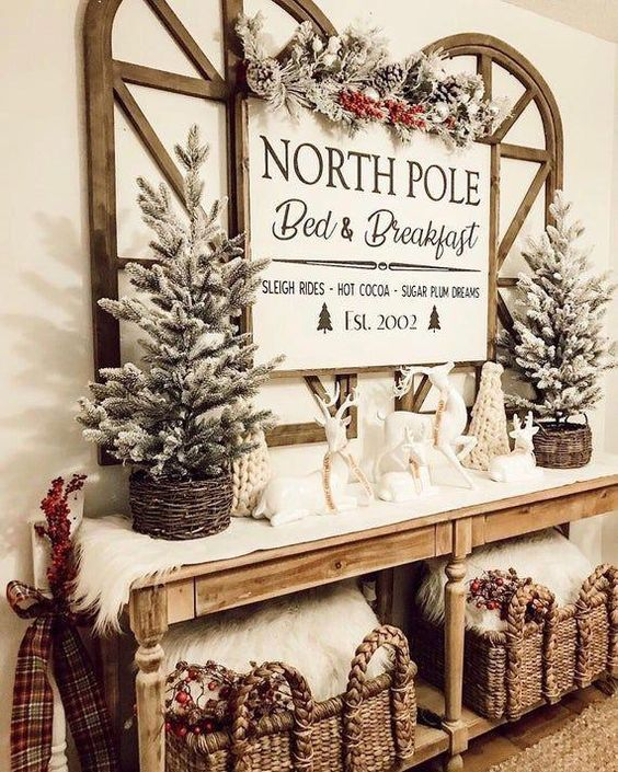North Pole Side Table