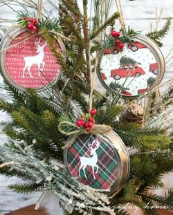 Mason Lid Ornaments