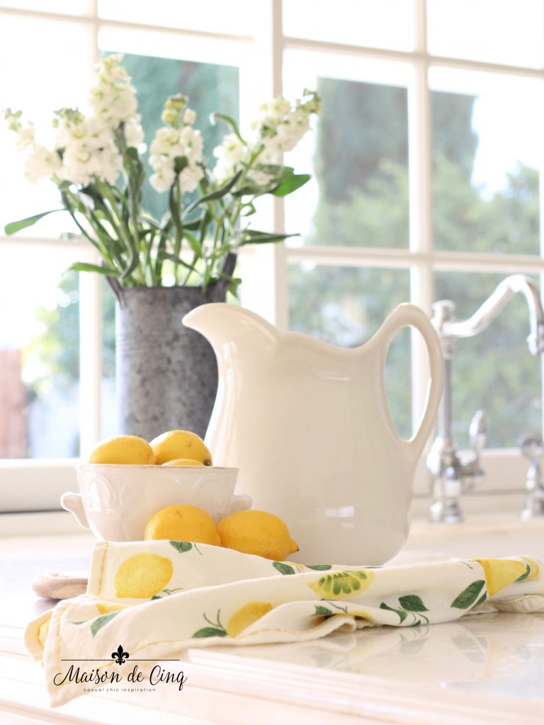 Lovely Lemon Decor