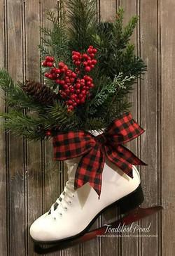 Ice Skate Floral