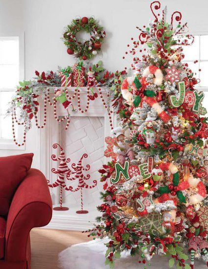 Whimsical Christmas Living Room