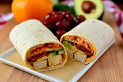 Avocado Chicken Wraps