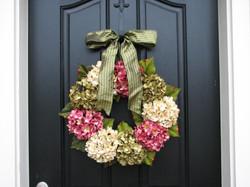 Sage Hydrangea Wreath