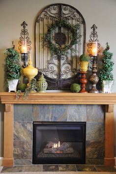 Mantle Straight From Tuscany