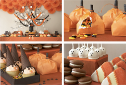 Festive Candy Tablescape