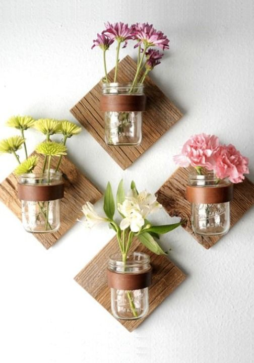 Mason Jar Florals