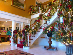 Majestic Christmas Stairwell