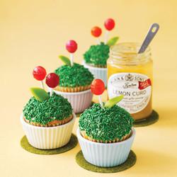 Flowerific Lemon Cakes