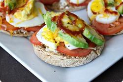 Egg & Avocado Breakfast Melt