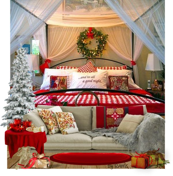 Christmas Bedroom Oasis
