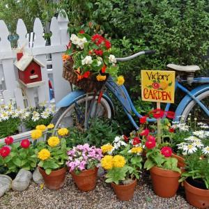 Vintage Bike & Florals