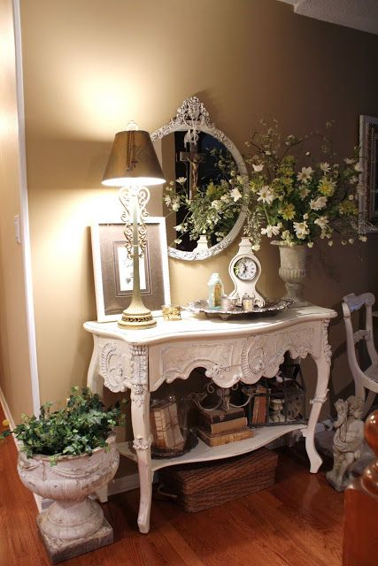 Shabby Chic Victorian Decor'