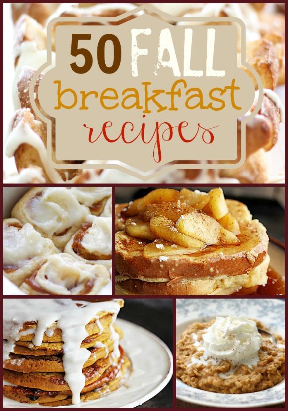 50 Fall Breakfast Recipes