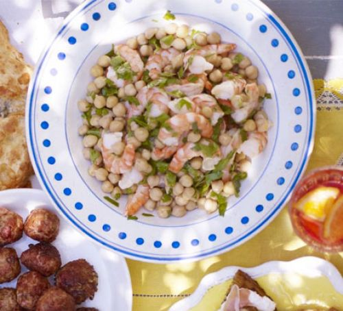 Prawn & Chickpea Salad