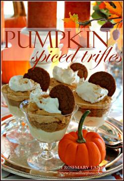 Pumpkin Spice Trifles