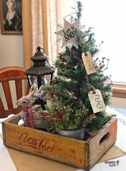 Lovely Christmas Tray